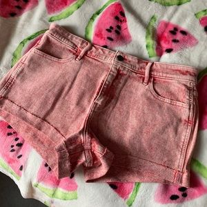 Pants - Hollister high rise short short new